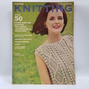 Vogue Knitting Magazine 1965 Spring Summer Pattern